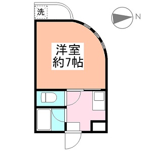 エレガンス綾瀬Ⅱ 2階
