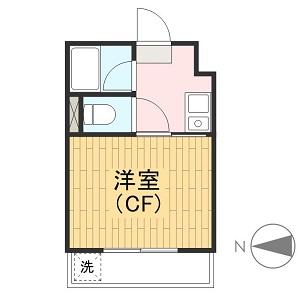 エレガンス綾瀬Ⅱ 205号室