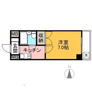 エレガンス綾瀬Ⅳ B type